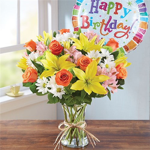 Local florist same day flower delivery los angeles ca 1 800 flowers fields of europe happy birthday mightylinksfo